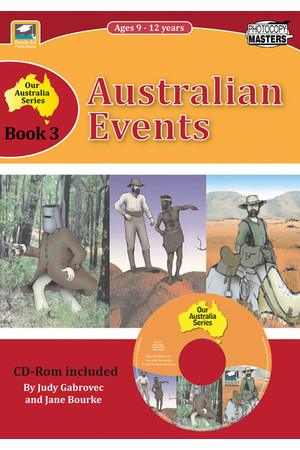 Our Australia - Book 3: Australian Events