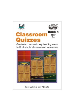 Classroom Quizzes Series - Book 4