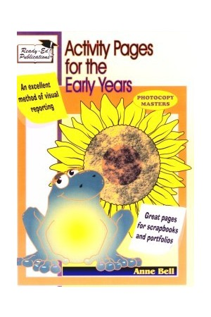 Activity Pages for Early Years