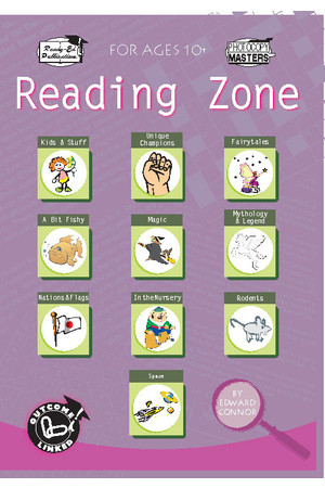 Reading Zone - Book 1