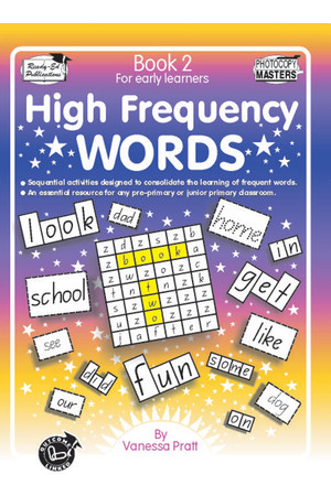 High Frequency Words - Book 2