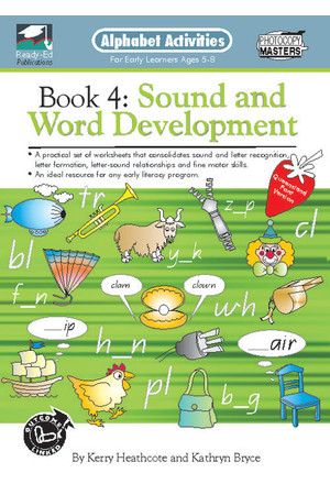 Alphabet Activities Book - QLD Font: Book 4 - Sound and Word Development