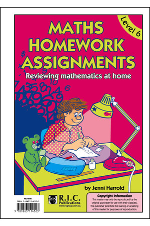 Maths Homework Assignments - Level 6: Ages 10-11