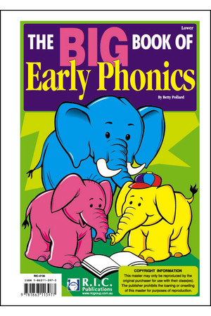 The Early Big Book of Phonics