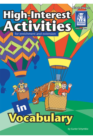 High-Interest Activities in Language and Vocabulary - Vocabulary