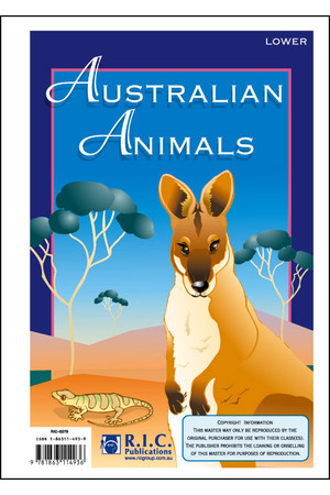Australian Animals - Ages 5-8
