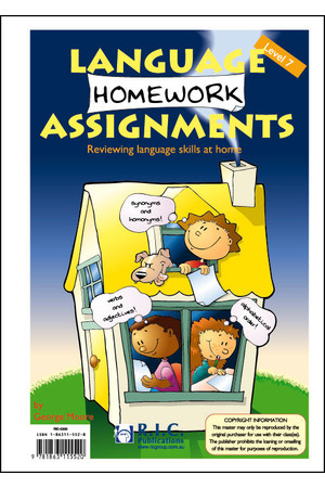 Language Homework Assignments - Level 7: Ages 11-12