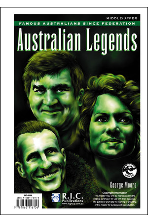 Famous Australians - Australian Legends