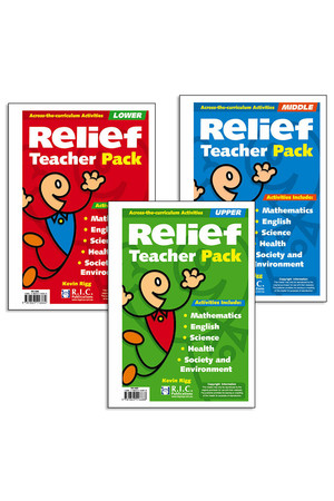 Relief Teacher Pack - Book Pack