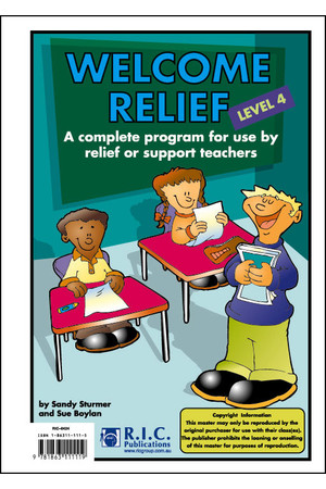 Welcome Relief - Level 4: Ages 8-9