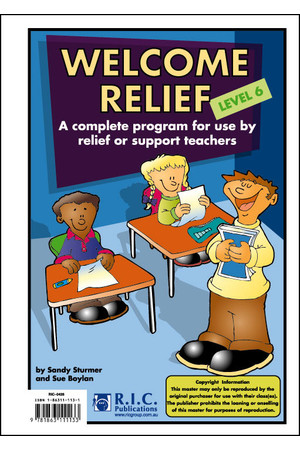 Welcome Relief - Level 6: Ages 10-11