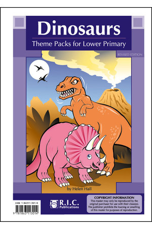 Theme Packs for Lower Primary - Dinosaurs