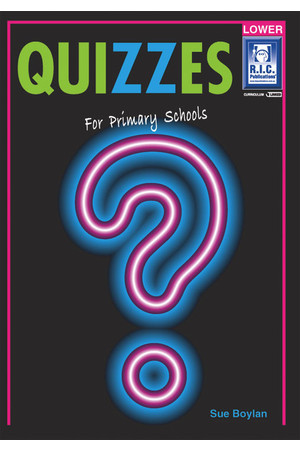 Quizzes - Ages 5-8