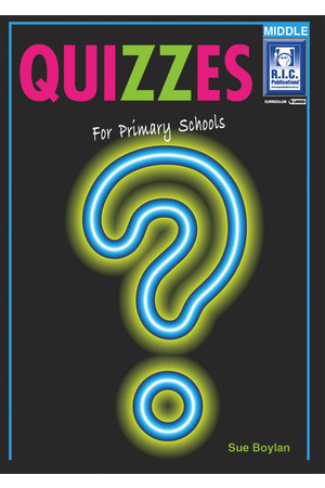 Quizzes - Ages 8-10
