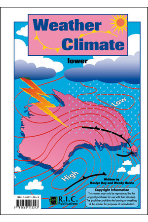 Weather and Climate - Ages 5-8