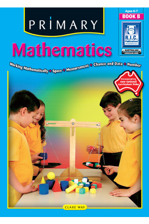 Primary Mathematics - Book B: Ages 6-7
