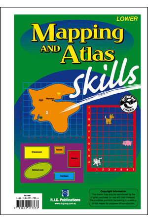 Mapping and Atlas Skills - Ages 10-12