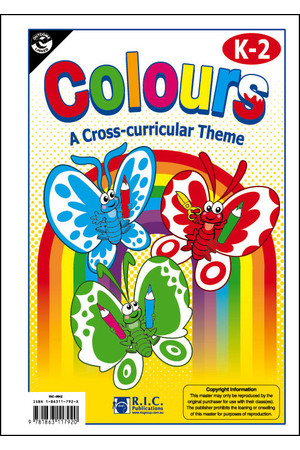 Lower Primary Cross-Curricular Themes - Colours