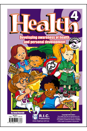 Health - Level 4: Ages 8-9