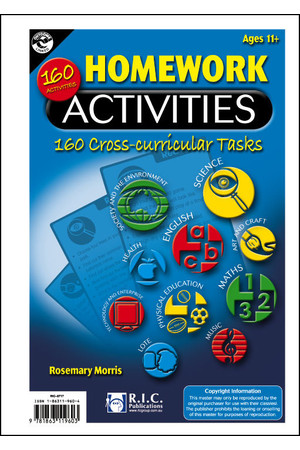 Homework Activities - Ages 11+