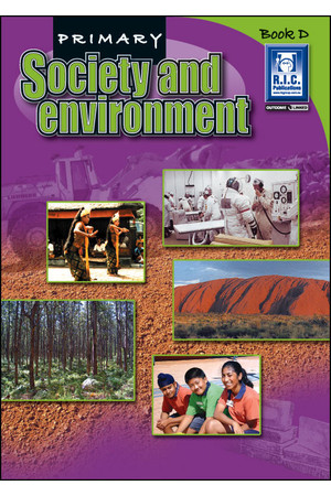 Primary Society and Environment - Book D: Ages 8-9