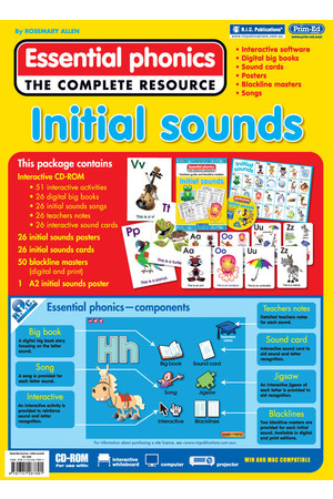 Essential Phonics - Initial Sounds