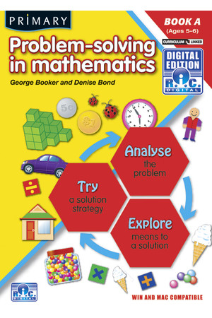 Primary Problem Solving Digital - Book A: Ages 5-6