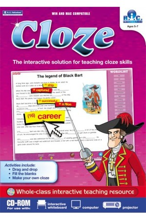 Cloze Interactive - Lower: Ages 5-7