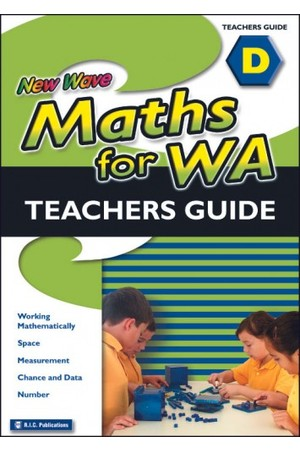 New Wave Maths - Teachers Guide - Book D: Ages 8-9