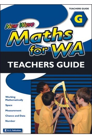 New Wave Maths - Teachers Guide - Book G: Ages 11-12