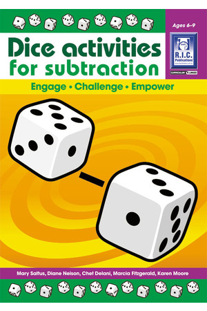 Dice Activities for Subtraction