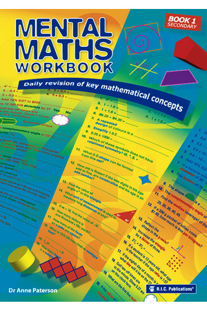 Mental Maths Workbook - Book 1: Ages 12-13