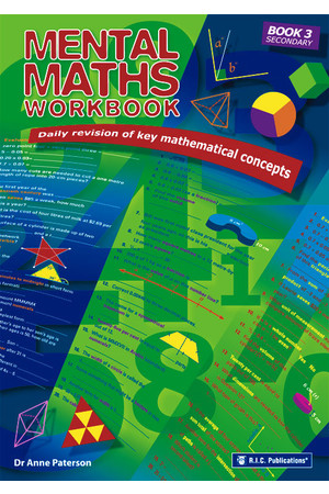 Mental Maths Workbook - Book 3: Ages 16+
