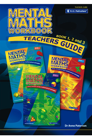 Mental Maths Workbook - Teacher's Guide