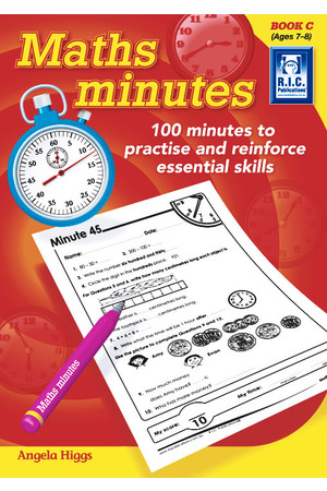 Maths Minutes - Book C: Ages 7-8