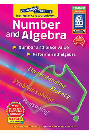 Australian Curriculum Mathematics - Number and Algebra: Foundation