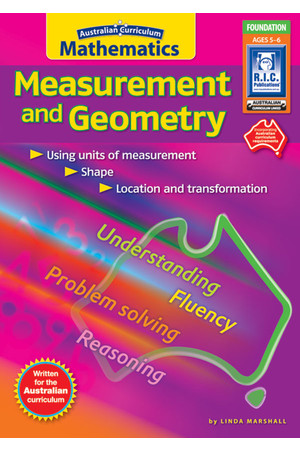 Australian Curriculum Mathematics - Measurement and Geometry: Foundation