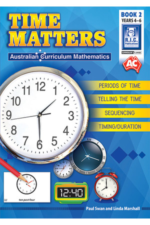 Time Matters - Book 2: Years 4-6