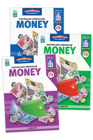 Australian Curriculum Money: Book Pack