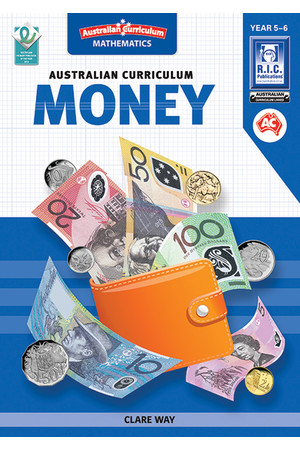 Australian Curriculum Money: Book 3 (Years 5 & 6)