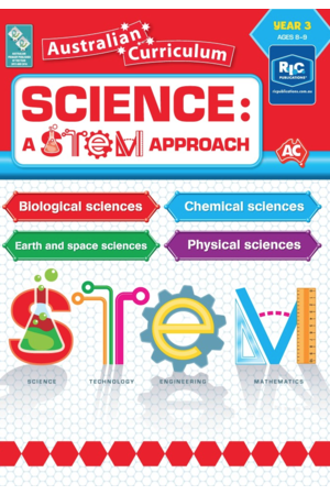 Science: A STEM Approach - Year 3