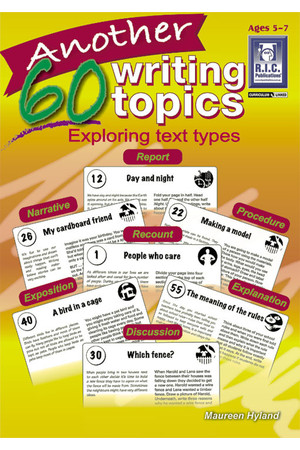 Another 60 Writing Topics - Ages 5-7
