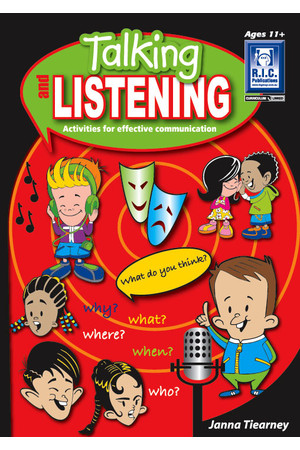 Talking and Listening - Ages 11+