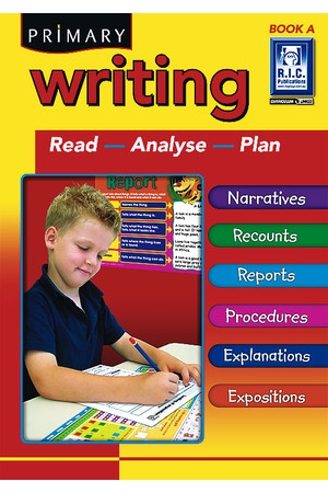 Primary Writing - Book A: Ages 5-6