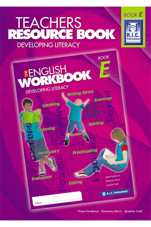 The English Workbook - Teachers Resource Book E: Ages 10+