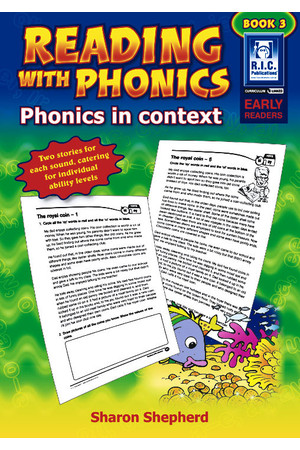 Reading with Phonics - Book 3