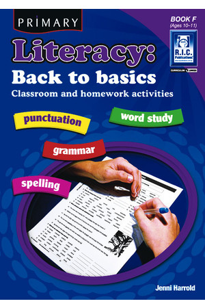 Primary Literacy - Back to Basics: Book F (Ages 10-11)