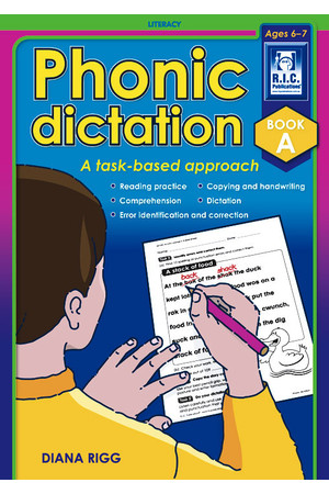 Phonic Dictation - Book A: Ages 6-7