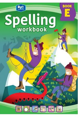 Spelling Workbook - Book E: Ages 9-10