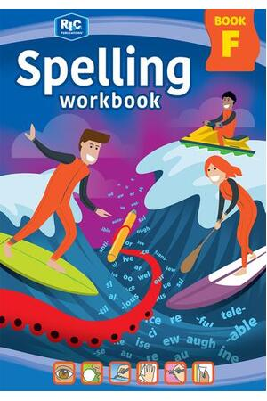 Spelling Workbook - Book F: Ages 10-11